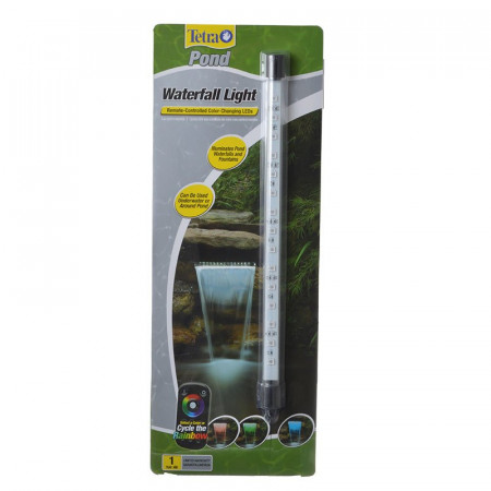 Tetra Pond Waterfall Light with Remote Controlled Color-Changing LEDs alternate img #1