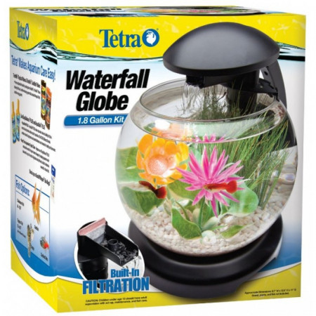 Tetra Waterfall Globe Aquarium Kit alternate img #1
