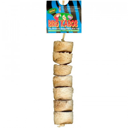 Wesco Bird Kabob Shreddable Bird Toy - Mini alternate img #1