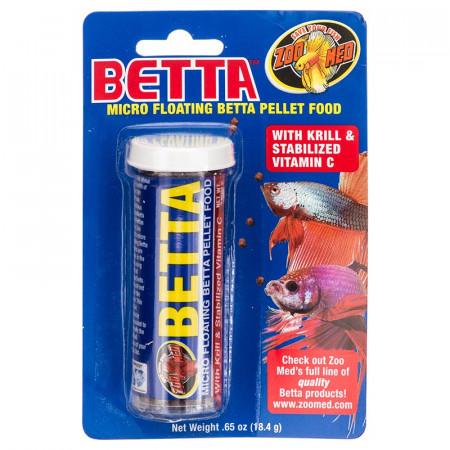 Zoo Med Micro Floating Betta Pellet Food alternate img #1