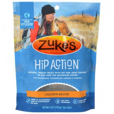Zukes Hip Action Dog Treats Chicken Recipe alternate img #1