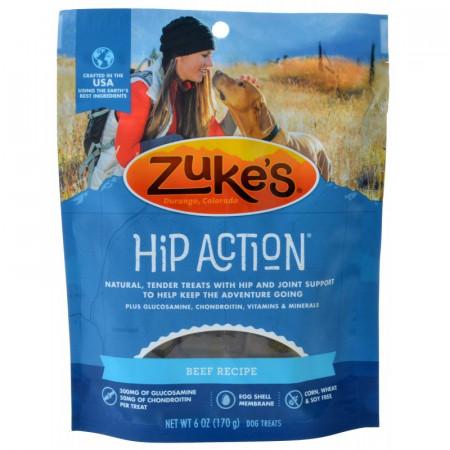 Zukes Hip Action Dog Treats - Roasted Beef Recipe alternate img #1