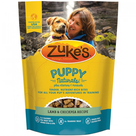 Zukes Puppy Naturals Dog Treats - Lamb & Chickpea alternate img #1