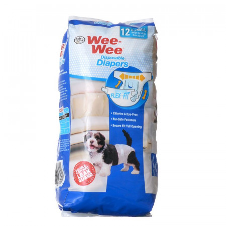 Four Paws Wee Wee Disposable Diapers - X-Small alternate img #1