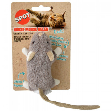 Spot House Mouse Helen Catnip Toy - Assorted Colors alternate img #1