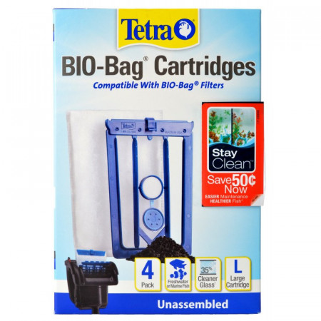 Tetra Bio-Bag Cartridges with StayClean Large alternate img #1