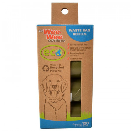 Four Paws Wee Wee Outdoor Eco Waste Bag Refills alternate img #1