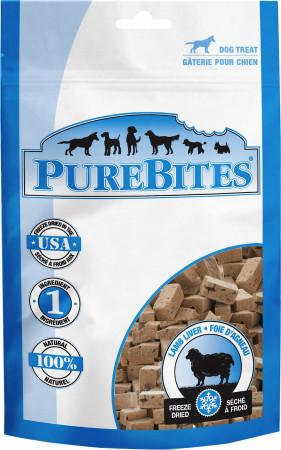 PureBites Lamb Liver Freeze Dried Dog Treats alternate img #1