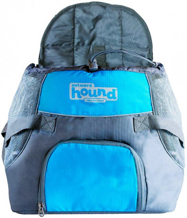 Outward Hound Pooch Pouch Front Carrier - Blue alternate img #1