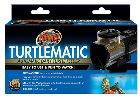 Zoo Med Turtlematic Automatic Daily Turtle Feeder alternate img #1