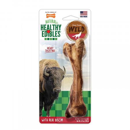 Nylabone Healthy Edibles Natural Wild Bison Chew Treats - Large alternate img #1