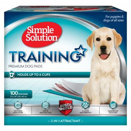 Simple Solution Training Premium Dog Pads alternate img #1