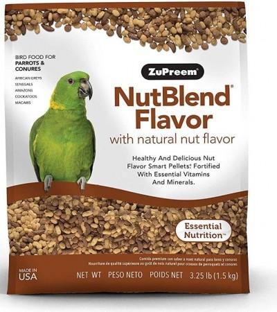 ZuPreem NutBlend Flavor Bird Food for Large Birds alternate img #1