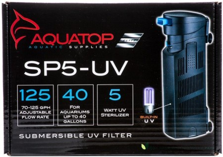 Aquatop Submersible UV Filter with Pump alternate img #2
