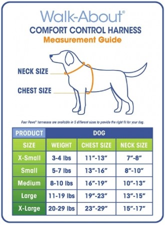 Four Paws Comfort Control Harness Black alternate img #3
