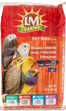 LM Animal Farms Parrot Diet alternate img #1