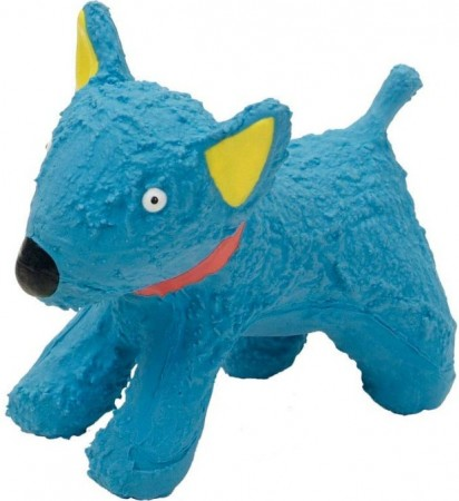 Li'l Pals Latex Blue Dog Toy alternate img #1