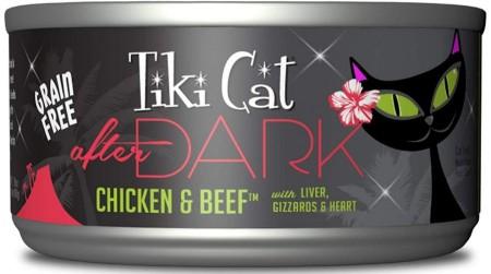 Tiki Cat After Dark Chicken & Beef Cat Food alternate img #1