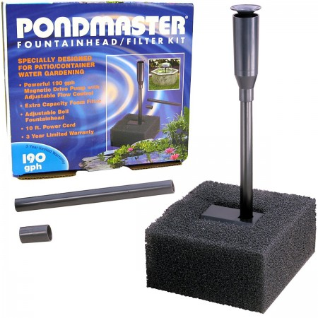 Pondmaster Fountainhead and Filter Kit alternate img #1