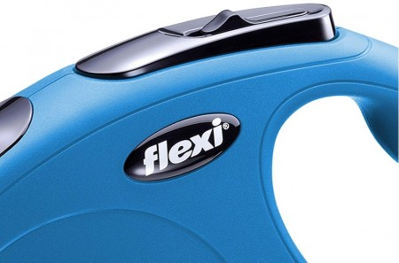 Flexi Classic Blue Retractable Dog Leash alternate img #2