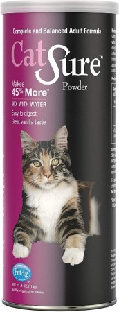 PetAg Catsure Meal Replacement Powder For Cats Vanilla Flavor alternate img #1