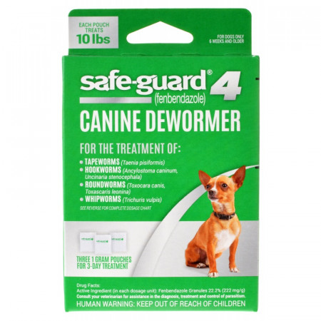 8in1 Pet Safe-Guard 4 Canine Dewormer for Small Dogs alternate img #1