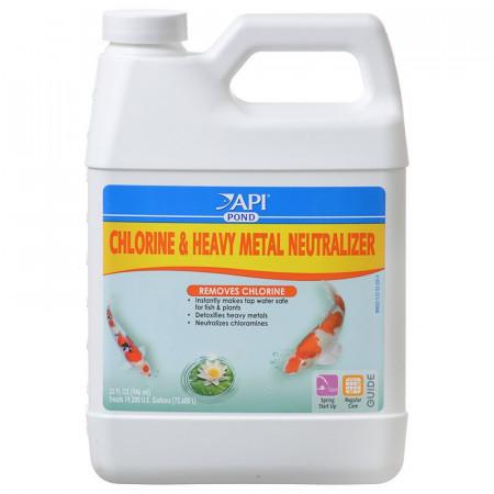 API Pond Chlorine & Heavy Metal Neutralizer alternate img #1