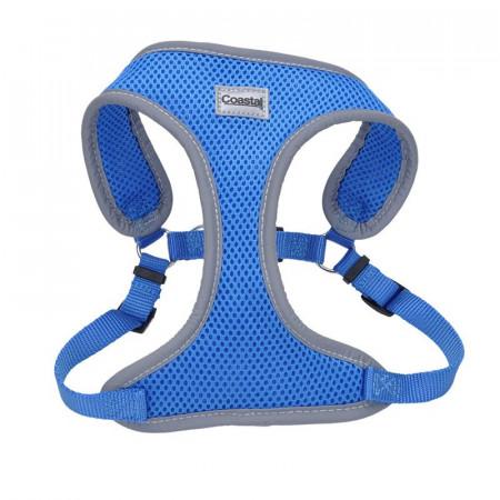Coastal Pet Comfort Soft Reflective Wrap Adjustable Dog Harness - Blue Lagoon alternate img #1