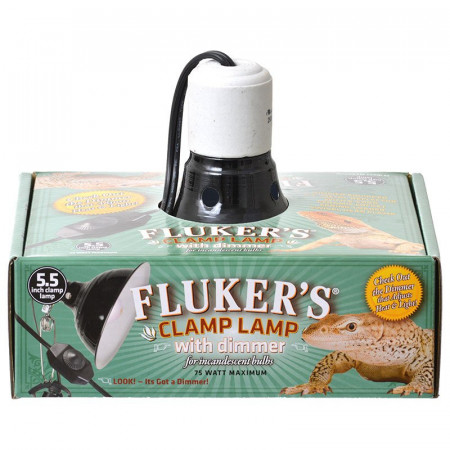 Flukers Clamp Lamp with Dimmer alternate img #1