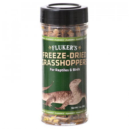Flukers Freeze-Dried Grasshoppers alternate img #1