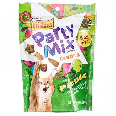 Friskies Party Mix Crunch Treats - Picnic alternate img #1