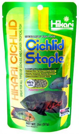 Hikari Cichlid Staple Floating Mini Pellet Food alternate img #1