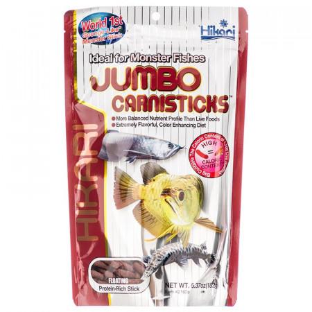 Hikari Jumbo Carnisticks Floating Stick Food alternate img #1