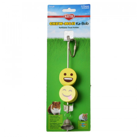 Kaytee Chew-Moji Kabob Refillable Treat Holder alternate img #1