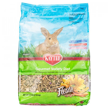 Kaytee Fiesta Gourmet Variety Diet - Rabbit alternate img #1