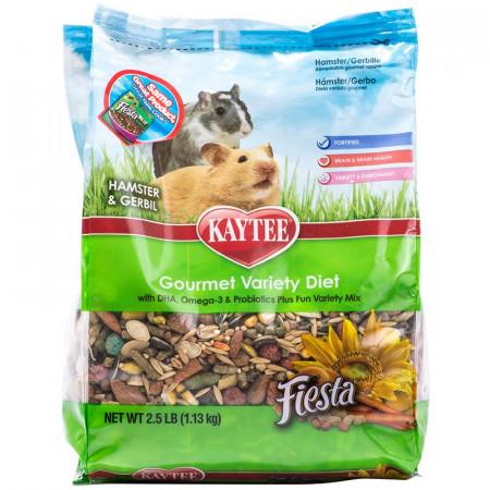 Kaytee Fiesta Hamster & Gerbil Gourmet Variety Diet alternate img #1