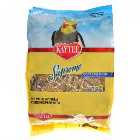 Kaytee Supreme Cockatiel Food Natural Grains & Seeds alternate img #1