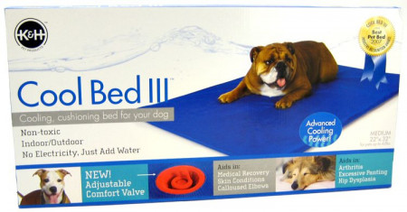 K&H Pet Cool Bed lll - Blue Cushion Bed alternate img #1