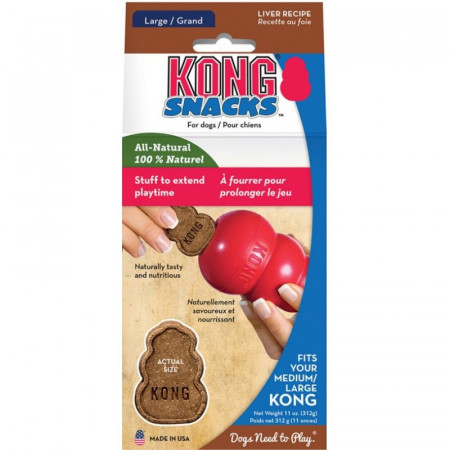 KONG Snacks Liver Recipe - Medium/Large alternate img #1