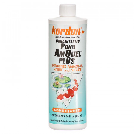 Kordon Pond AmQuel Plus Detoxifies Ammonia Nitrite and Nitrate Concentrated Water Conditioner alternate img #1