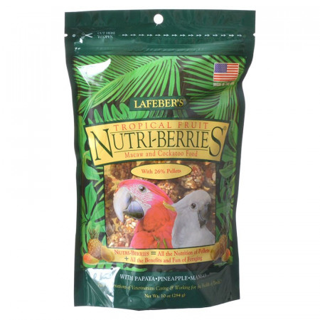 Lafeber Tropical Fruit Nutri-Berries - Macaw & Cockatoo Food alternate img #1