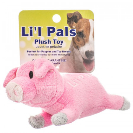 Lil Pals Ultra Soft Plush Dog Toy - Pig alternate img #1
