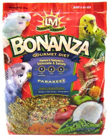 LM Animal Farms Bonanza Gourmet Diet - Parakeet Food alternate img #1