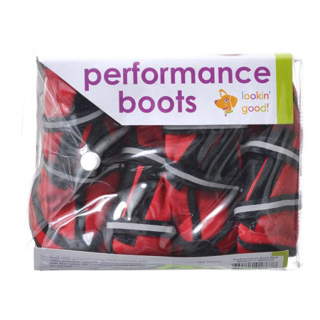 Fashion Pet Lookin Good Performance Boots for Dogs - Red alternate img #1