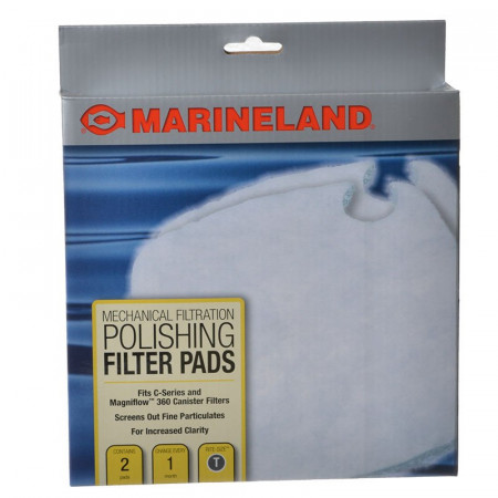 Marineland Polishing Filter Pads for Canister Filters - Rite-Size T alternate img #1