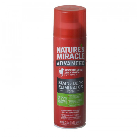 Natures Miracle Advanced Enzymatic Stain & Odor Eliminator Foam alternate img #1