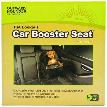 Outward Hound Pet Lookout Car Booster Seat alternate img #1
