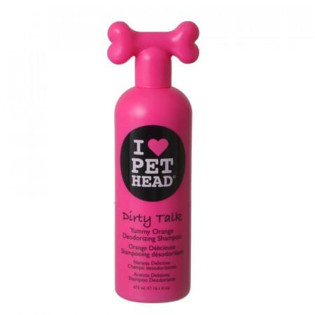 Pet Head Dirty Talk Deodorizing Shampoo - Yummy Orange alternate img #1
