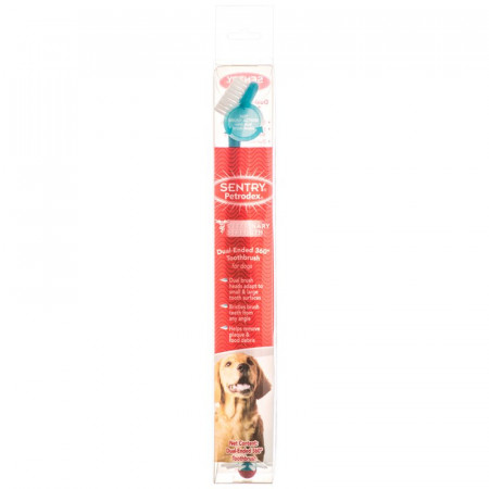 Sentry Petrodex Dual Ended 360 Degree Toothbrush for Dogs alternate img #1