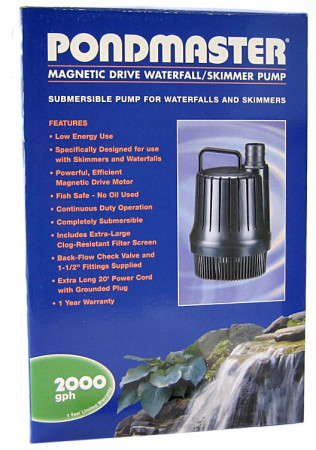 Pondmaster Magnetic Drive Waterfall / Skimmer Pump alternate img #1